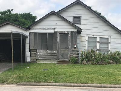 Houston Single Family Home For Sale: 2225 Patterson Street