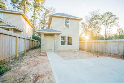 Montgomery Single Family Home For Sale: 16697 E Hammon