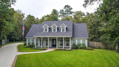 Conroe Single Family Home For Sale: 18 E Forest Court