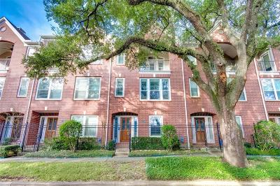 Houston Condo/Townhouse For Sale: 1014 La Rue Street