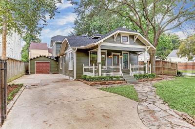 Houston Single Family Home For Sale: 2047 Harvard Street