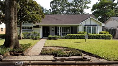Houston Single Family Home For Sale: 4819 Chantilly Lane