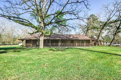 Conroe Single Family Home For Sale: 12049 Clark Lane
