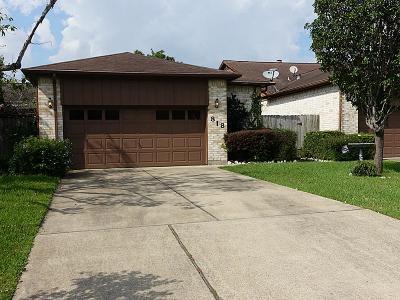 Harris County Condo/Townhouse For Sale: 818 Garden Walk Drive