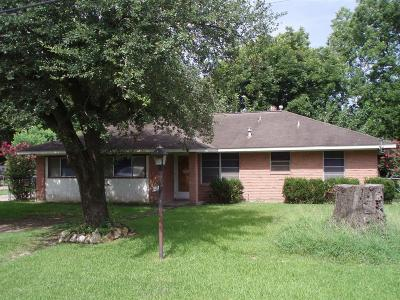 Houston TX Single Family Home For Sale: $140,000