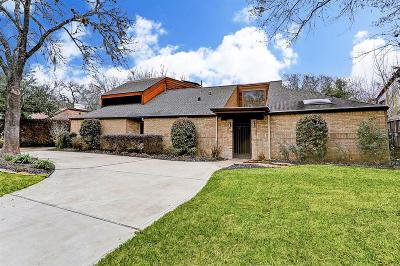Houston Single Family Home For Sale: 407 Bayou Cove Court