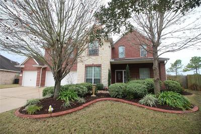 Pearland Single Family Home For Sale: 11616 Cross Spring Drive
