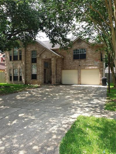 Deer Park Single Family Home For Sale: 909 Bayou Bend Drive
