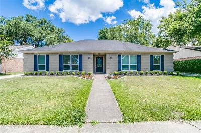 Houston Single Family Home For Sale: 6046 Lymbar Drive
