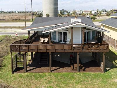 Galveston Single Family Home For Sale: 22529 Kennedy Drive