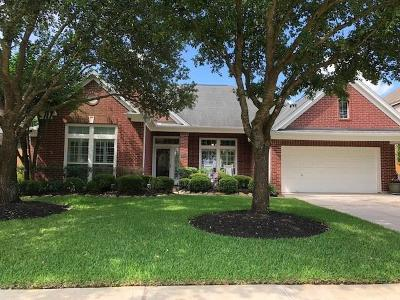 Katy TX Single Family Home For Sale: $389,000
