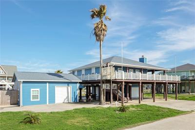 Crystal Beach Single Family Home For Sale: 2583 Breaker Dr