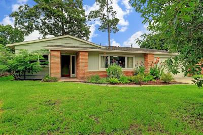 Houston TX Single Family Home For Sale: $619,000