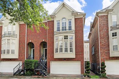 Houston Condo/Townhouse For Sale: 5209 Sagecircle Street