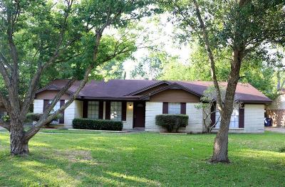Alvin Single Family Home For Sale: 313 Meyer Street