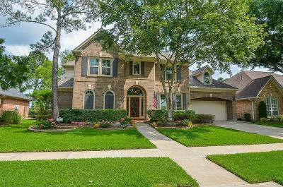 Katy Single Family Home For Sale: 827 Mahogany Run Drive