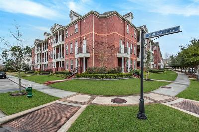 The Woodlands Condo/Townhouse For Sale: 70 Shell Port Square