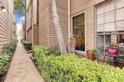 Houston Condo/Townhouse For Sale: 4922 Feagan Street