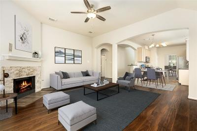 Manvel Single Family Home For Sale: 63 Atascadero Drive