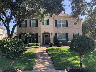 Harris County Single Family Home Option Pending: 19502 Cloverstone Court