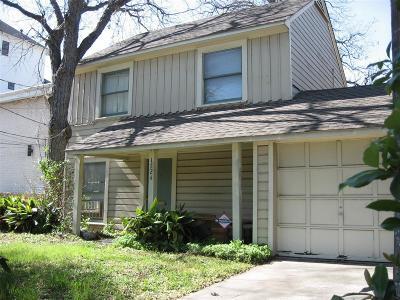 Houston Single Family Home For Sale: 1724 Fairview Street