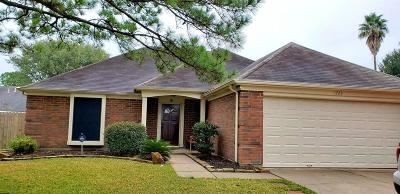 Houston Single Family Home For Sale: 1723 Rushworth Drive