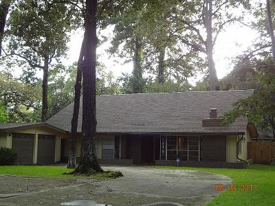 Kingwood Single Family Home For Sale: 1119 Burning Tree Road