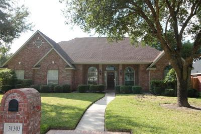 Tomball, Tomball North Rental For Rent: 31303 Bearing Star Lane