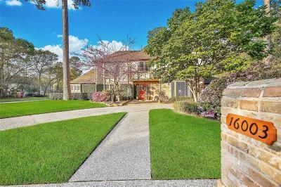 Spring Single Family Home For Sale: 16003 Maplehurst Drive