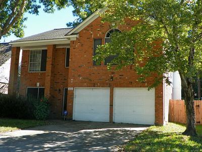 Single Family Home For Sale: 16019 Lakestone Drive
