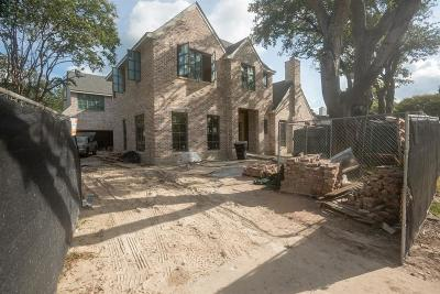 Briargrove Single Family Home For Sale: 6134 Sugar Hill Drive