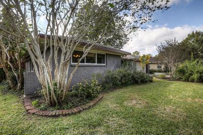 Houston Single Family Home For Sale: 4729 Creekbend Drive