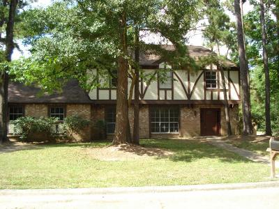 Kingwood Single Family Home For Sale: 2123 Hidden Creek Drive