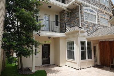 Rice Military Condo/Townhouse For Sale: 5510 Venice Street