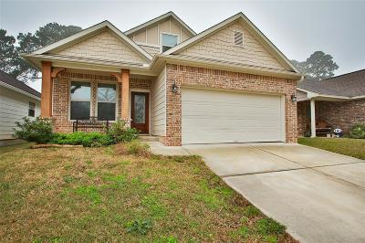 Conroe Single Family Home For Sale: 107 Harbor Court Drive