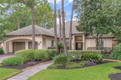 The Woodlands Single Family Home For Sale: 51 Stone Springs Circle