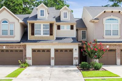 Humble Condo/Townhouse For Sale: 12431 Tyler Springs Lane