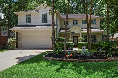 The Woodlands Single Family Home For Sale: 66 N Delta Mill Circle