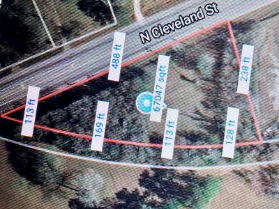 Residential Lots & Land For Sale: 2998 N Cleveland St