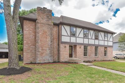 Houston Single Family Home For Sale: 17919 Zagar Lane