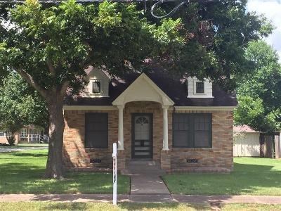 Richmond TX Single Family Home For Sale: $205,000