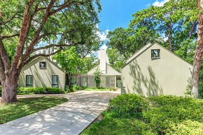 Houston TX Single Family Home For Sale: $1,850,000