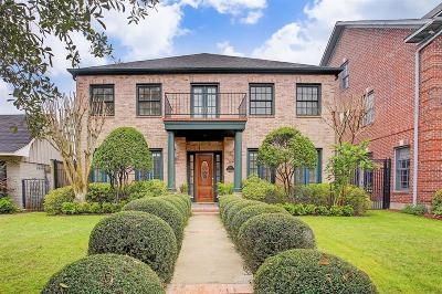 Houston Single Family Home For Sale: 1914 Wroxton Road