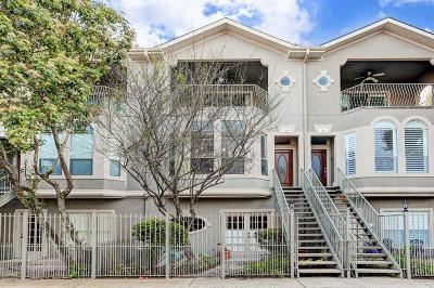 Houston Condo/Townhouse For Sale: 108 Detering Street