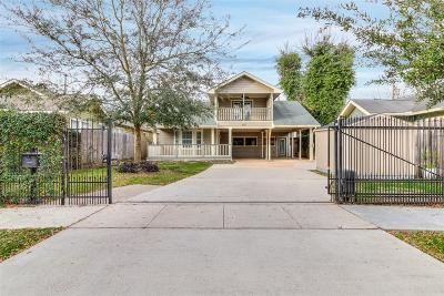 Houston Single Family Home For Sale: 807 Algregg Street