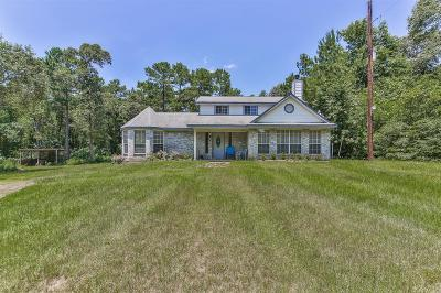 Montgomery Single Family Home For Sale: 24566 Weeren Road