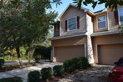 The Woodlands Condo/Townhouse For Sale: 3 Scenic Brook Court