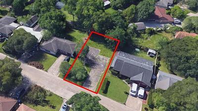 Houston Residential Lots & Land For Sale: 1927 Barnsley Lane