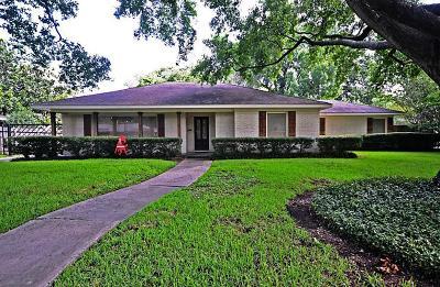 Houston TX Single Family Home For Sale: $725,000