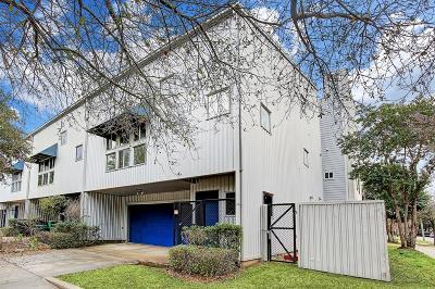Houston Condo/Townhouse For Sale: 2827 La Branch Street